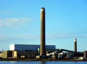 Kilroot Power station Carrickfergus Noord-Ierland