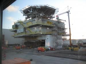 Riffgat in aanbouw, Strukton Hollandia joint venture